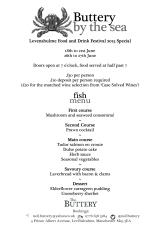 pop up 9 by the sea fish menu