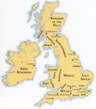 9th century britain