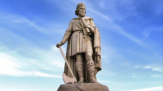 Alfred statue